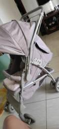 Carrinho e bebê conforto Galzerano Novo