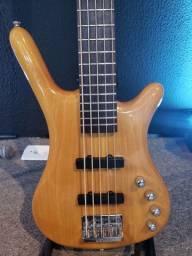 Baixo Warwick Corvette (rock bass 5 cordas)