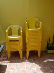 Cadeiras da skol