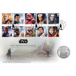 Medalha Star Wars Skywalker Family Edição Limitada-uk