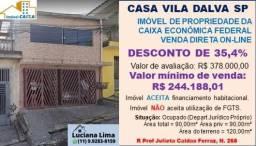 CASA VILA DALVA SAO PAULO (DESCONTO DE 35,4%)