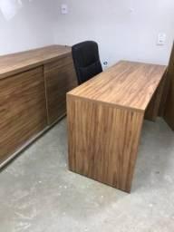 Mesa + Armário Para Escritório