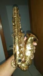 Título do anúncio: Sax soprano curvo dolphi