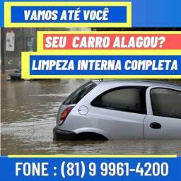 Seu Carro alagou? .: Limpeza Interna Veicular :.