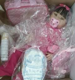 Bebês reborn hiper realistas 299 reais