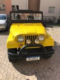 Vendo Jeep willys 6cc ano 1964
