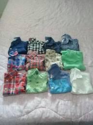 Blusas infantil masculina