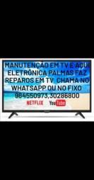 Manutenção em televisão chama no Whatsapp *