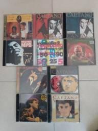 CDs Caetano e Gil