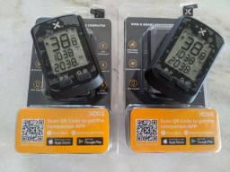 Ciclocomputador GPS Xoss g com suporte strava