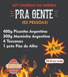 Picanha Argentina - kit para churrasco