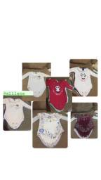 vende - se body de bebê nunca usados, marca kiko baby