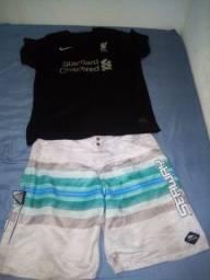 Vendo kit Camisa de time + seaway