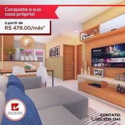 R$=497 entrada facilitada em ate 24 meses casas novas em caruaru