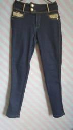 Calça jeans longa