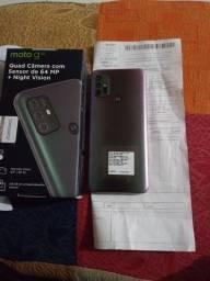 Smartphone Motorola Moto G30 128GB 4G Wi-Fi Tela 6.5'' Dual Chip 4GB RAM Câmera Quádrupla
