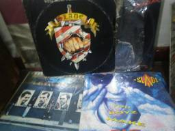 Lote 10 disco de vinil rock