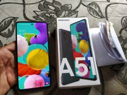 Galaxy A51 128 GB Nota e Seguro Vendo Troco Aceito Cartão