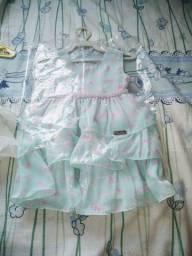 Desapego de Vestido de menina 6 até 2 anos. 3 anos tbm