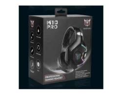 Fone Headset Onikuma K10 Pro 7.1 Ps4 Pc Xbox360 Gamer Novo na Caixa