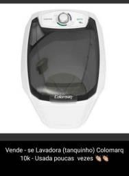 tanquinho colomarq - 10k - super filtro de fiapos - usada 4 meses