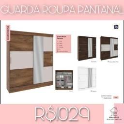 Título do anúncio: Guarda roupa pantanal/ pantanal Guarda roupa-72828