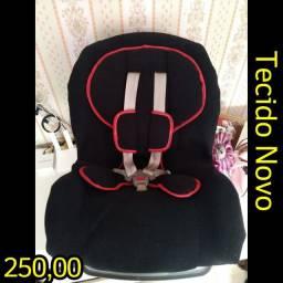 Cadeira Veícular d 0 a 25 kilos com 3 inclinações.