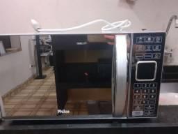 Forno de micro-ondas Philco PME25 com Porta Espelhada - 25 L<br><br>