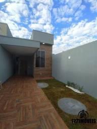 Casa 2Q com suite Setor Recanto do Bosque com área Goumert churrasqeira ra