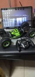 Rc carro de controle de rádio 2.4ghz 4wd twist-deserto buggy brinquedo alta velocidade