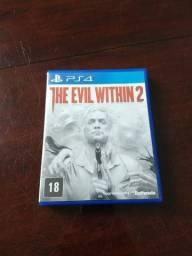 The Evil Within 2 - Mídia Física Ps4 Perfeito Estado