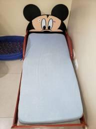 Cama infantil Mickey com colchão