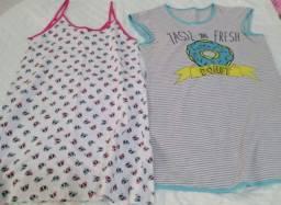 2 Camisolas Infantis Tamanho 10