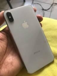 iPhone X de 64gb branco todo original