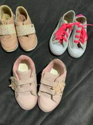 Lote sapato tamanho 26