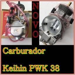 Carburador keihin pwk 38 mm Novo sem uso