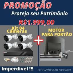 Câmeras de segurança + motor eletrico 45988200