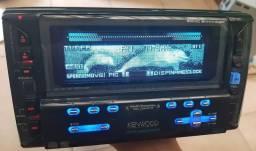 Título do anúncio: Aparelho de multimídia CD md kenwood 2pin mp3