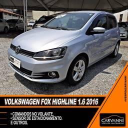 Volkswagen Fox Highline 1.6 2016 Completo