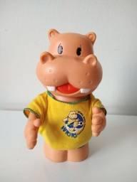 Boneco Bolachas Hipopó Brasil - Impecável