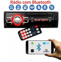 Radio com bluetooth