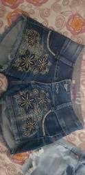 Short jeans e body