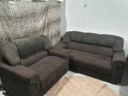 Vende-se Jogo de sofá,Rack e painel