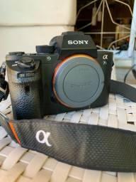 Câmera profissional Sony alpha 7s 2 filma em 4k