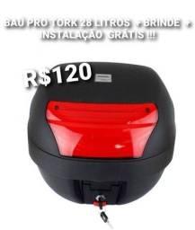 BAÚ 28 LITROS PRO TORK + BRINDE E INSTALAÇÃO GRÁTIS
