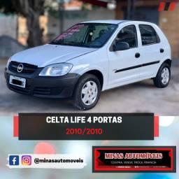 Celta Life 4p, até 100% financiado, parcelas a partir de R$ 456,00