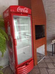 Geladeira Coca Cola Grande Top TORRANDO