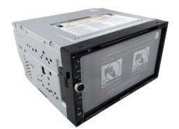 """Central Multimídia CD/DVD Player 7"""" GPS Padrão Universal"""