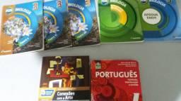 Livros usados do ensino médio 2º e 3º anos