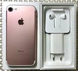 iPhone 7 Rose 32GB (Bateria Nova) - Aceito iPhone e Parcelo